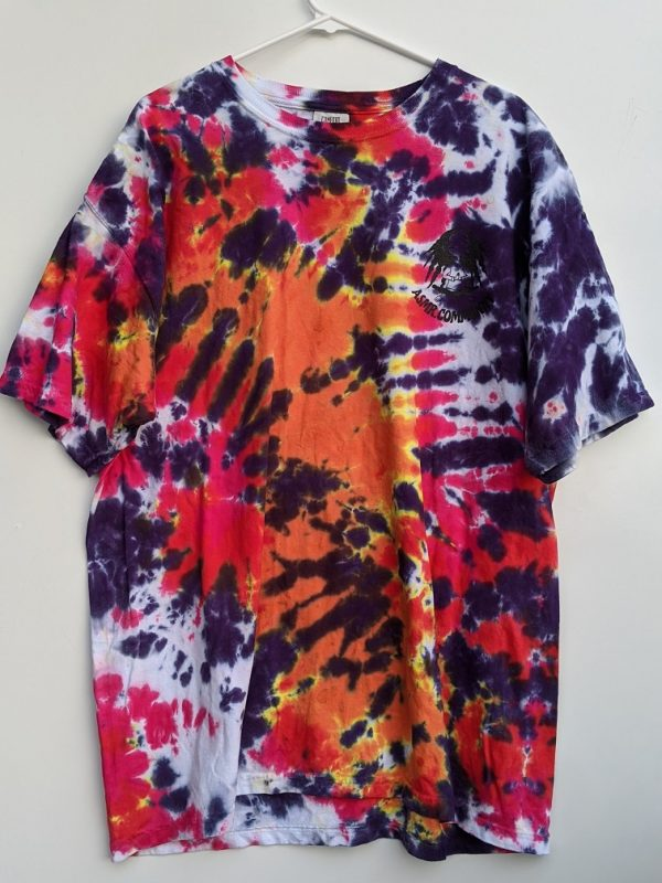 Extra Large Tie Dye Shirt