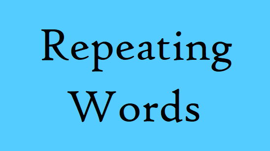 Repeating Words
